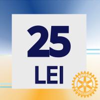 25 lei